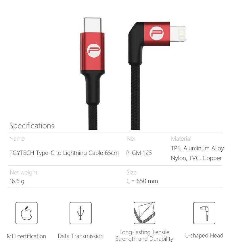 cap-ket-noi-otg-pgytech-type-c-to-lightning-cable-65cm-2