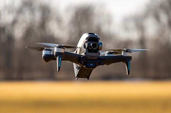 FPV Drone đã được build hoàn thiện