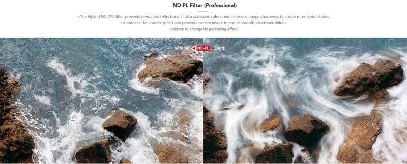 NDPL-Set-(ND8PL-ND16PL-ND32PL-ND64PL)-OSMO POCKET-POCKET-2 FILTER-pgytech