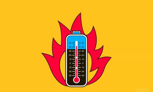 Pin quá nóng cũng là một nguyên nhân gây ra nổ pin