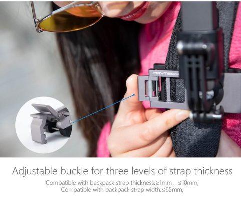 Bộ-kẹp-Action-Camera-Strap-Holder-pgytech-phukienflytech