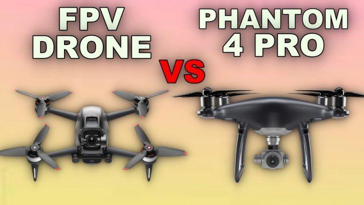 So-sánh-đánh-giá-DJI-FPV-Drone -vs-DJI-Phantom-4Pro